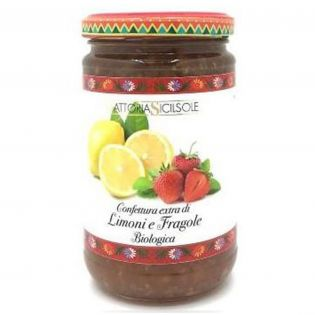 Organic Lemons and Strawberries Extra Jam