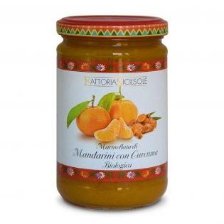 Marmellata di Mandarini con Curcuma BIO