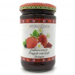 Extra jam Strawberries and Goji ORGANIC