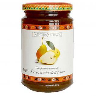 Etna Coscia Pear Extra Jam