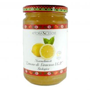 """Organic """"Siracusa I.G.P. Lemon"""" Jam"""