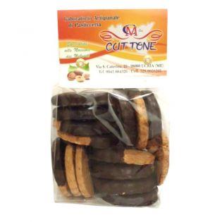 Chocolate-Covered Hazelnut Cookies