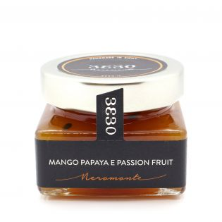 Confettura Mango, Papaya e Passion Fruit 3330 - Neromonte