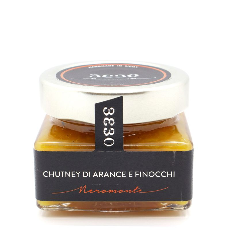 Orange and Fennel Chutney 3330 Neromonte