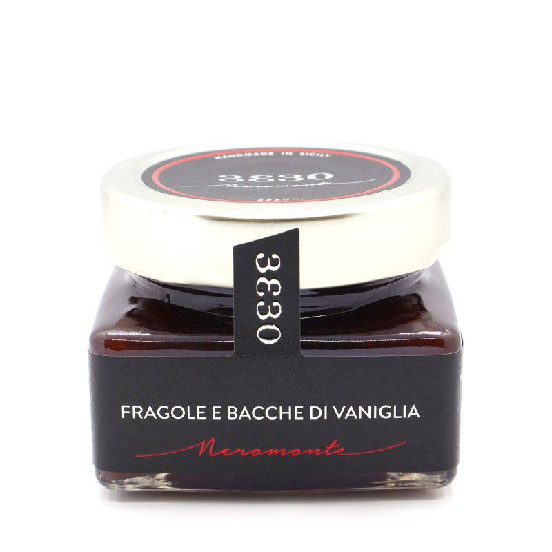 Strawberry and Vanilla Beans Extra Jam 3330 Neromonte