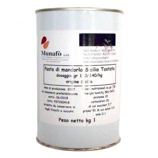 Pasta di Mandorla 1 Kg - Semilavorato Base per gelato