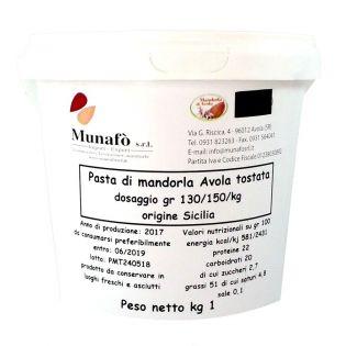 Pasta Pura di Mandorla di Avola pelata e tostata - 1kg