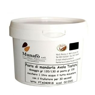 """Avola Almonds Paste"" - Semi-finished product - Base for ice cream 500 g"