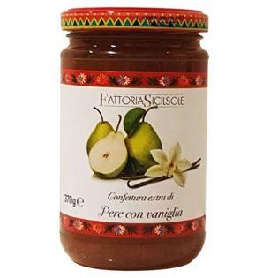 Pears and Vanilla Extra Jam 370 g