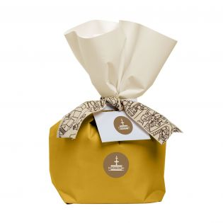 Panettone with candied Ananas and Apricot Fiasconaro 500 grams