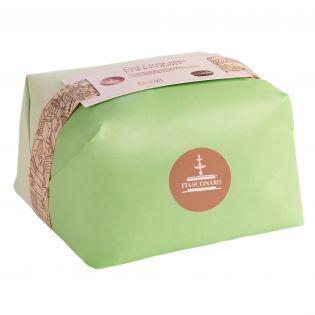 Panettone chocolate drops and william pear Fiasconaro - 750 grams