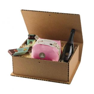 Strenna Rose and Prickly Pear Gift Box by Fiasconaro