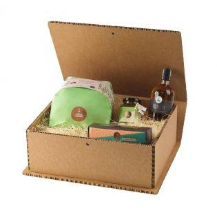 Strenna Pear and Chocolate Gift Box by Fiasconaro