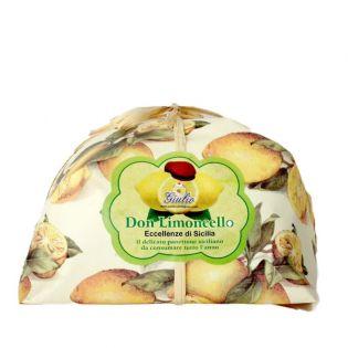 Don Limoncello - Sicilian Panettone flavored with lemon liqueur 500 g