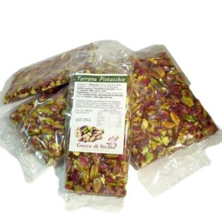 Crunchy Pistachio Nougat 100 g