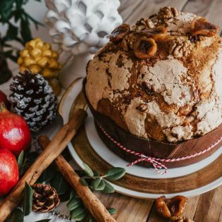 Dried figs and walnuts Panettone Giulio 1 kg