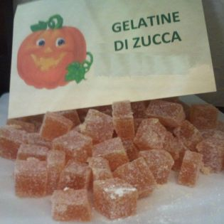 Pumpkin jelly candies - handcrafted