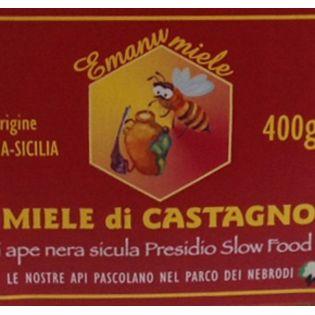 Miele di Castagno di Ape Nera Siciliana - Slow Food