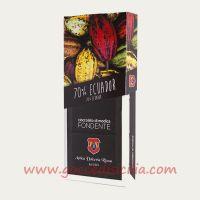 Fondente Monorigine Ecuador 70 % - Cioccolato di Modica I.G.P.