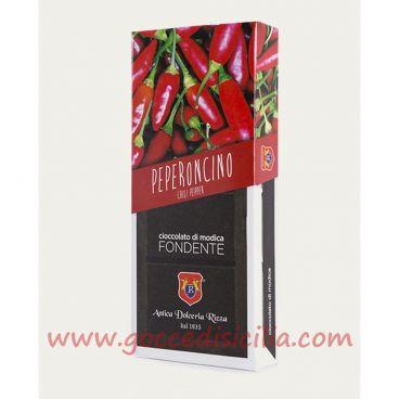 Cioccolato modicano I.G.P. al Peperoncino