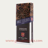 Cioccolato di Modica all'Anice Stellato in vendita su GoccediSicilia.com