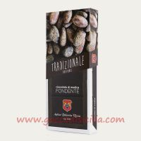 Black Dark Chocolate - Chocolate of Modica Traditional
