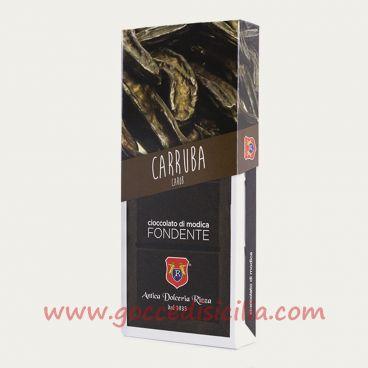 Cioccolato modicano alla Carruba