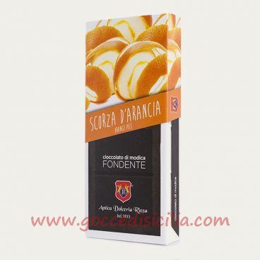 Modica chocolate Peels of Orange