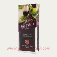 Modica chocolate with Nero d'Avola Wine