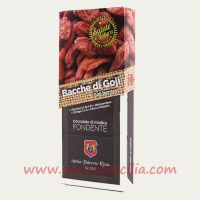 Modica chocolate with Goji berries