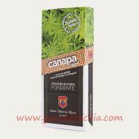 Cioccolato alla Canapa con semi interi - Fondente modicano I.G.P.