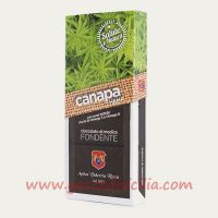 I.G.P. Modica chocolate hemp seeds whole