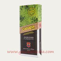 Cioccolato alla Canapa con semi decorticati- Fondente modicano IGP