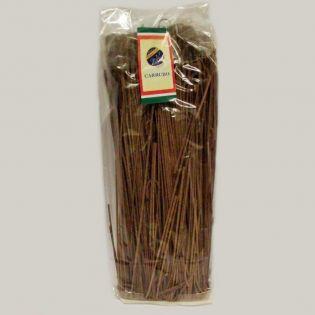 Handmade carob Tagliolini