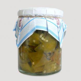 Peperoncini Sette Anni a Pezzi Sott'olio