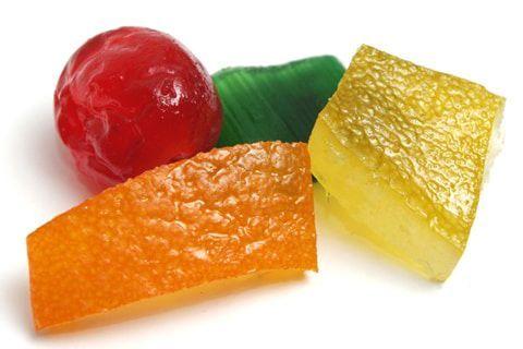Frutta candita prodotta artigianalmente con solo frutta siciliana