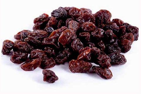 Zibibbo raisins and raisin preparations